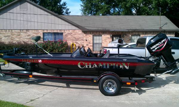 chion bass boat - $11500 (baton rouge)
