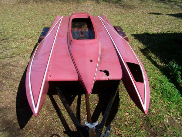 TOP FUEL HYDRO drag boat v drive not flat bottom - $1500 (north bossier)