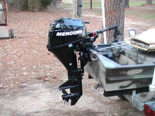 14 Ft. Boat, Motor, and Trailer, Camouflage - $4000 (Keithville, LA)