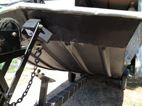 Alumaweld Bass boat with Mercury - $2500 (Bogata)