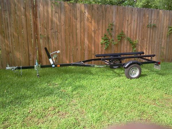 09 Shorelander Jet Ski Seadoo PWC trailer. Clear title. NICE - $450 (Pittsburg Texas)
