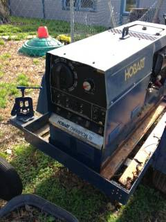 Hobart Welder Generator on Welding Trailer -   x0024 2500  shreveport