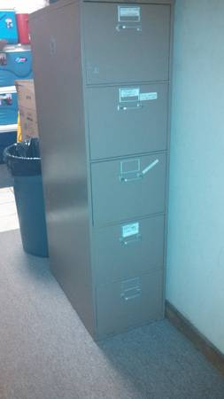 5 Drawer Filing Cabinet -   x0024 120  bossier city
