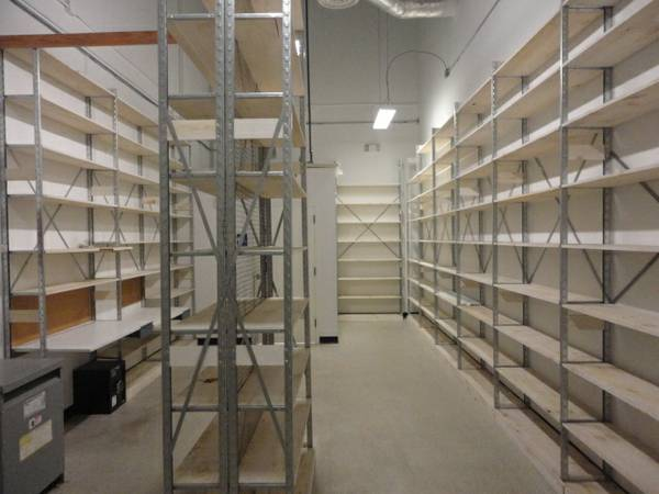 shelving for storage -   x0024 150