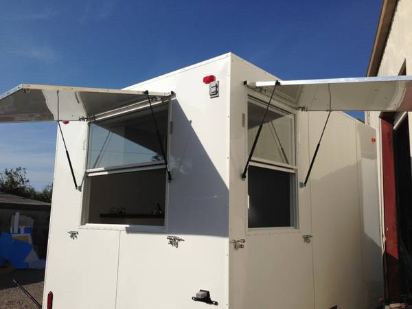 FOOD CONCESSION TRAILER 79 x 10 - $7200 (OLDSMAR, FL)
