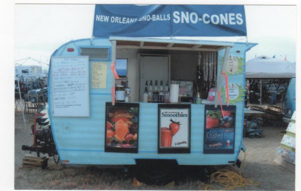 Sno Cone Consession Travel - $3000 (Leesville, La)