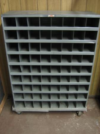 Dayton Electric Pre-Engineered Steel Storage Bin Cabinet - 72 Bins - $95 (East TX)