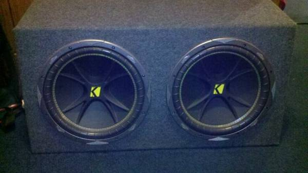 2 Kicker 12 CVR and Kicker - $200