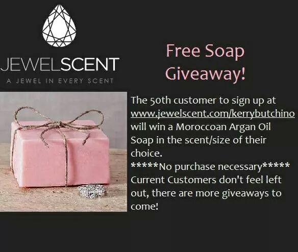 JewelScent Moroccan Argan Oil Soap Giveaway