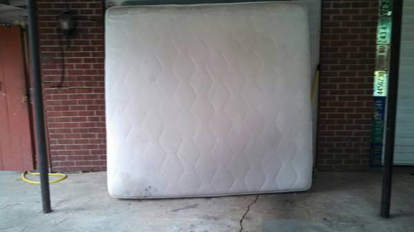 KING SIZE MATTRESS BOX SPRING COMBO - $75 (N. SHREVEPORT)