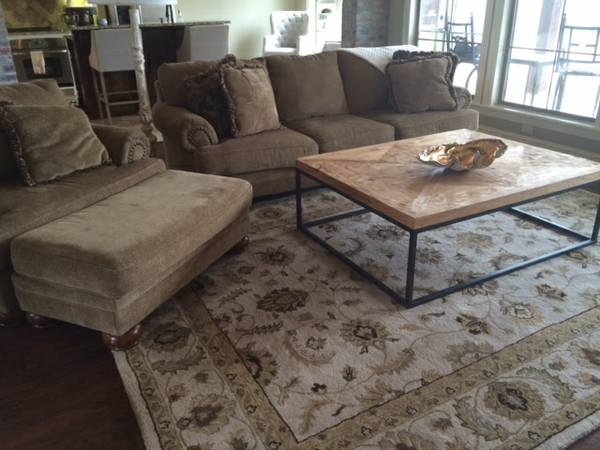 Ashley Furniture Sofa and Oversized Chair with Ottoman - x00241000 (South Shreveport )