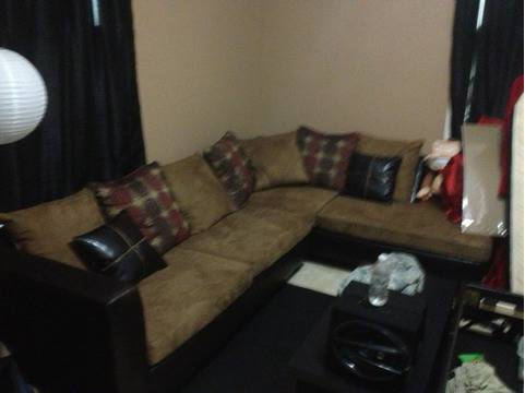Microfiber sectional new - $500 (Shreveport )