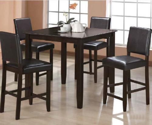 NEW $288 NEW $288 Pub Style Restaurant Table and 4 Chairs - $288 (BRAND NEW)