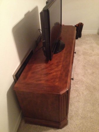 $250 Ashley Furniture Entertainment Center - $250 (Near Bossier City, La)