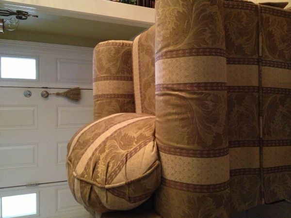 GoldCream Over size Chair - $125 (North Bossier City)