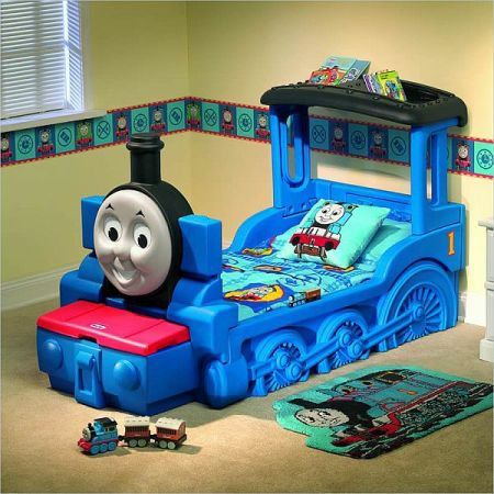 Thomas Train Toddler Bed - $150 (Shreveport)