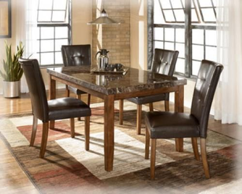 FOR ONLY $499 get Ashleys exquisite 5pc Lacey Dining Room group - $499 (Delivery Help Available)