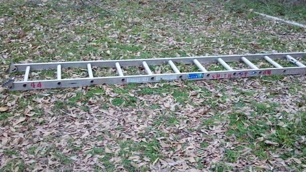 two used ladders for sale -   x0024 65  north Shreveport