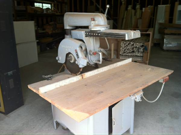 radial arm saw - $250 (shreveport)
