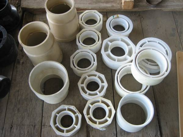 PVC Reducers, Sch 40 - $35 (East TX)