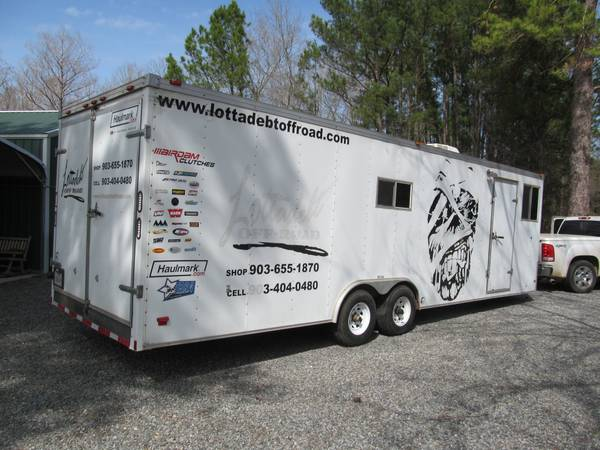 2008 hallmark rv toy hauler -   x0024 7500  shreveport la