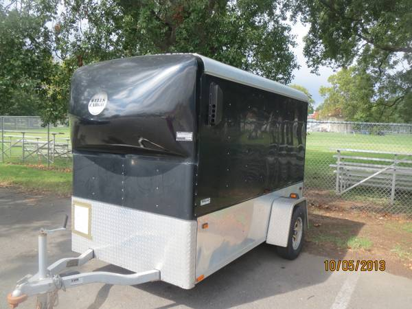 Toy Hauler 2003 Wells Cargo Motorcycle Trailer - $2200 (Bossier City)