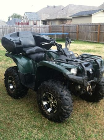 0739 YAMAHA GRIZZLY 700 - $5500 (N. BOSSIER)