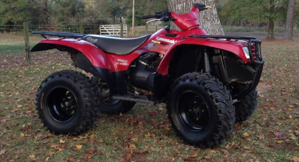 REDUCED PRICE Kawasaki prairie 650 4x4 - $2500 (Belmont,LA)