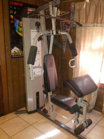 Golds Gym XR45 Home Gym - $150