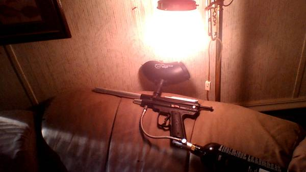 2 piranha r6 paintball guns - $150 (shreveport)