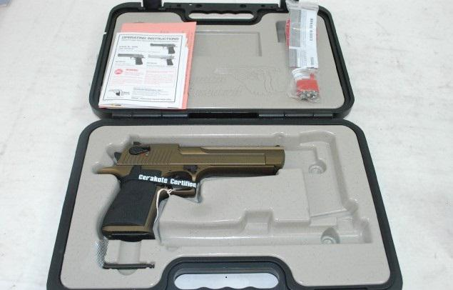 1 200  DESERT EAGLE 50 AE BURNT BRONZE MAGNUM RESEARCH       CERAKOTE 6 Semi-Auto Pistol DE50BB