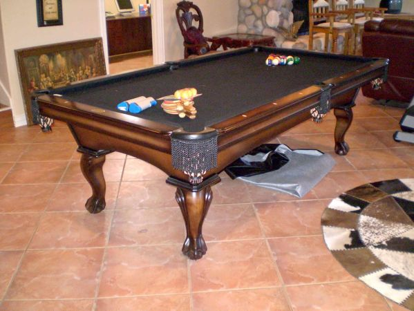 Custom Olhausen Regulation Pool Table - $2500 (Longview, Tx)