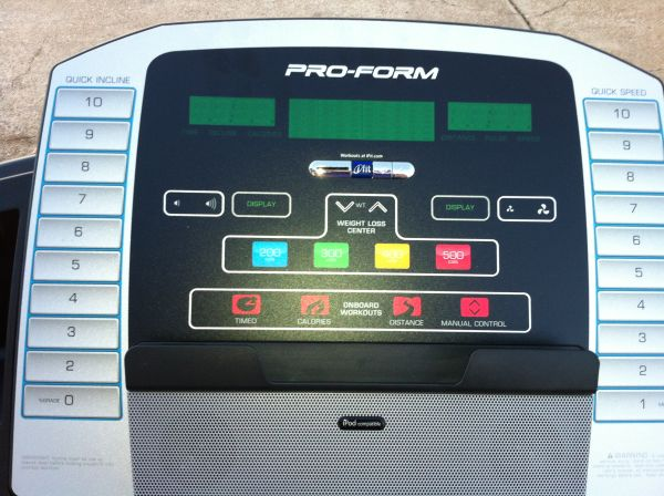 ProForm 600 LT TREADMILL - $600 (Shreveport)