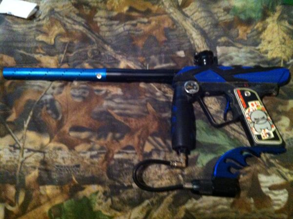 smart parts ion electronic paintball gun - $150 (shreveport, LA)