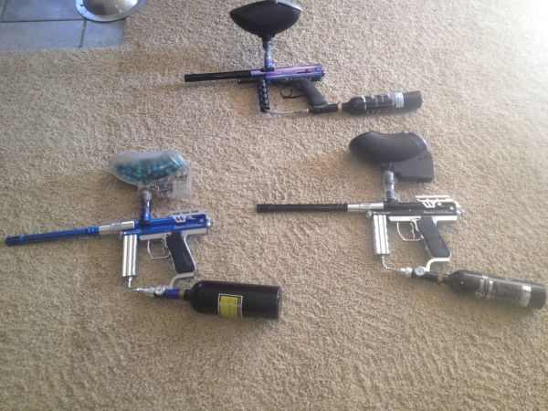 Paint Ball Guns - Spyder  (3) - $220 (Waskom, Texas)