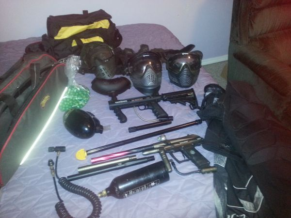 Paintball Everything you need for two - $250