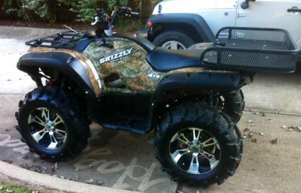 08 Grizzly 700 FI very nice - $6000 (shreveport)