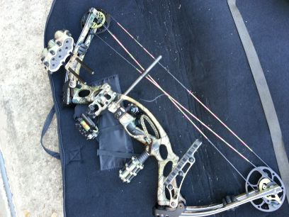 YOUTH AND WOMENS LEFT HANDED COMPOUND BOW- Hoyt Kobalt PKG. (LH) - $700 (Blanchard)