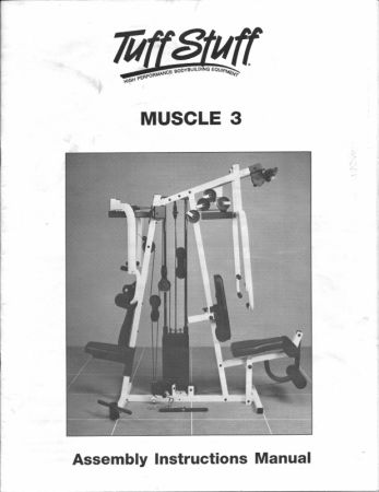 Tuff Stuff Muscle 3 Complete Home Gym - $450 (South Shreveport)