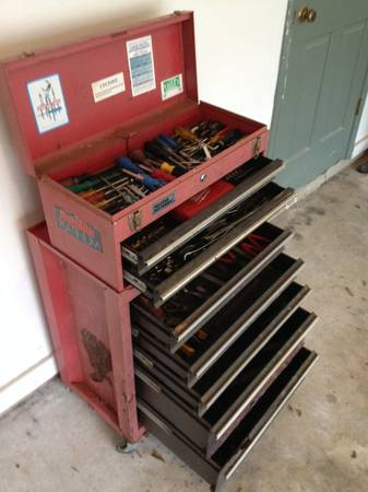 Toolbox with Tools - $150 (Bossier City)