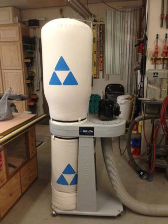 Delta AP400 1hp Dust Collector - $150 (North Bossier Near Water Tower)