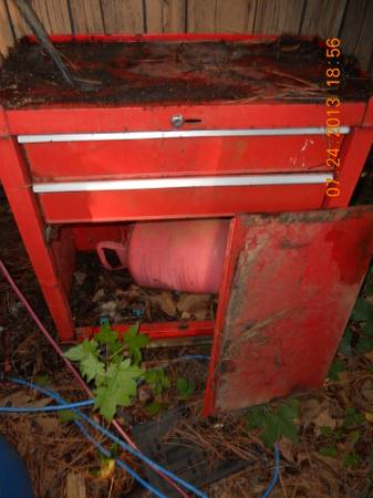 old standing tool boxs - $65 (Minden)