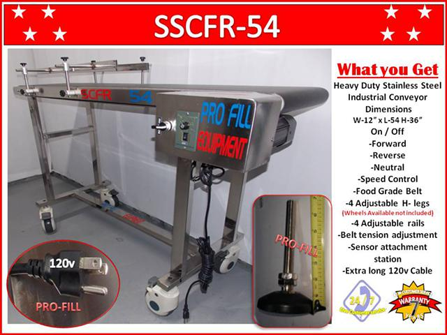 1 500  SSCFR-54 CONVEYOR  Food Grade Belt