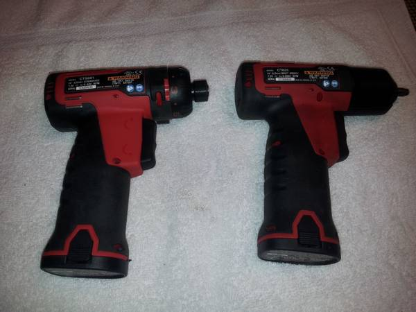 snap-on cordless 14 impact and a cordless screwdriver set - $400 (shreveport)