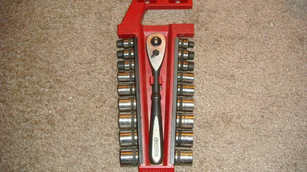 Craftsman Standard Metric Socket Wrench Set - $30
