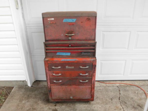 Vintage Snap On tool boxes cabinet - $220 (Benton LA)