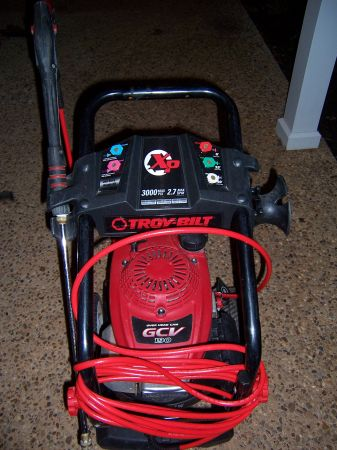 Troy-Bilt XP 3000 Pressure Washer - $325 (Shreveport)