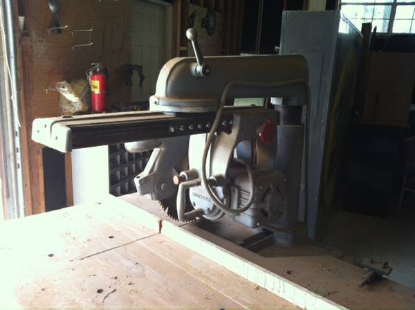 radial arm saw for sale - $150 (shreveport)