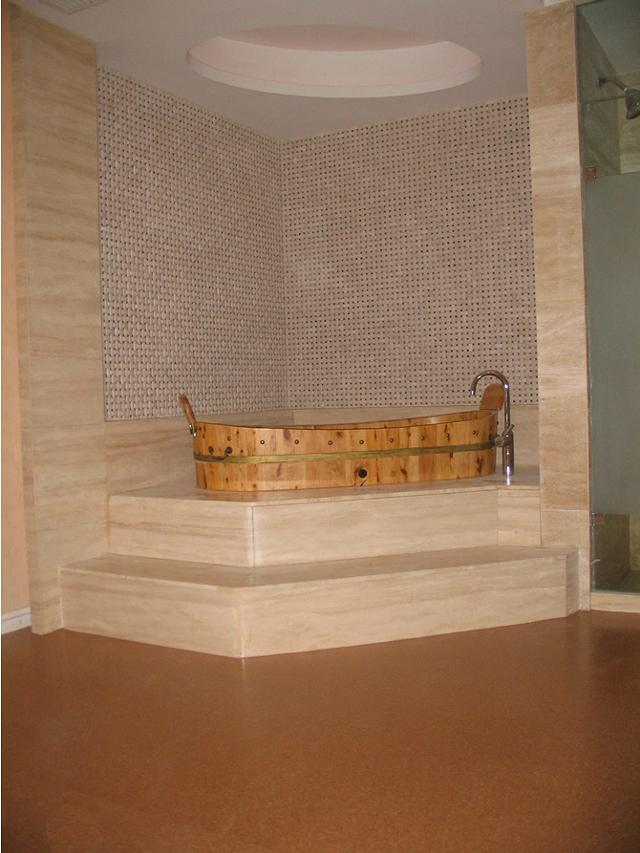 Bathroom Tile 4mm Cork Flooring Tile 12X24