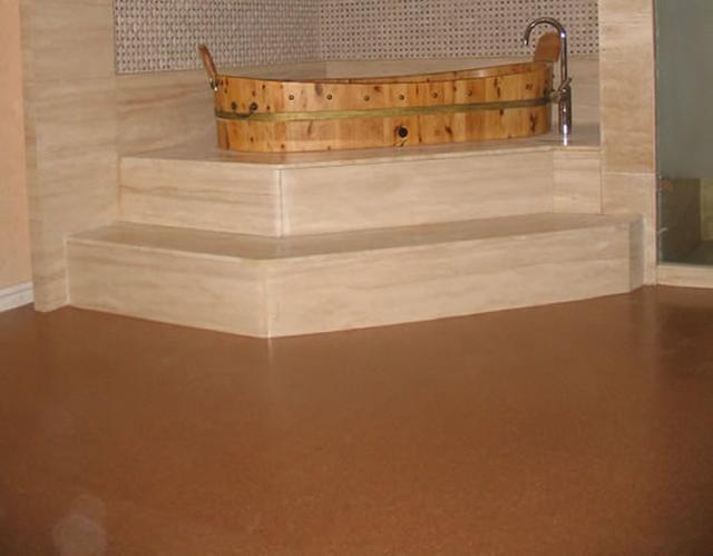 Cork floor tiles 6mm  2 49SF